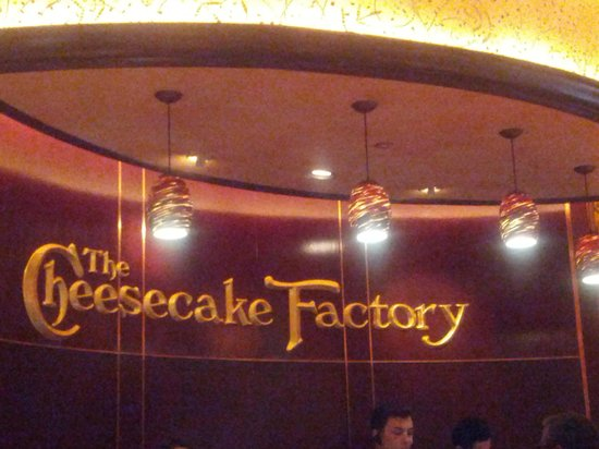 Cheese Cake Factory Floor Plan