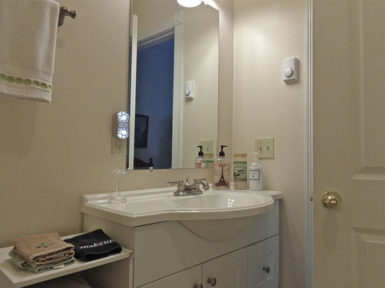 Connellsville Bed and Breakfast : Irish Room Bathroom