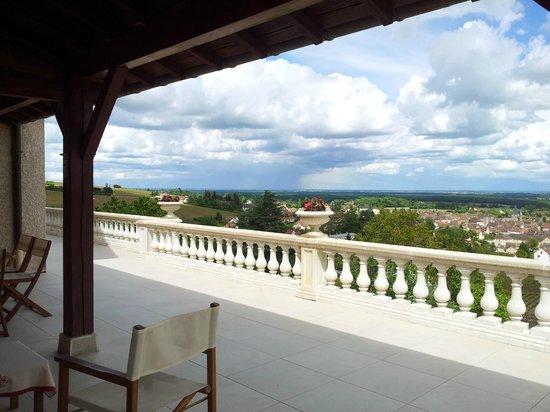Chambres d'Hôtes Davenay : terrasse 15