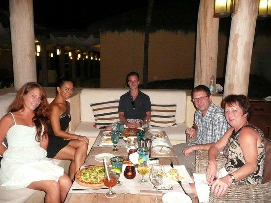 The St. Regis Punta Mita Resort : Dinner st Sea Breeze