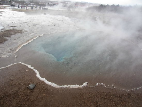 Discover Iceland : Steaming Water Pool