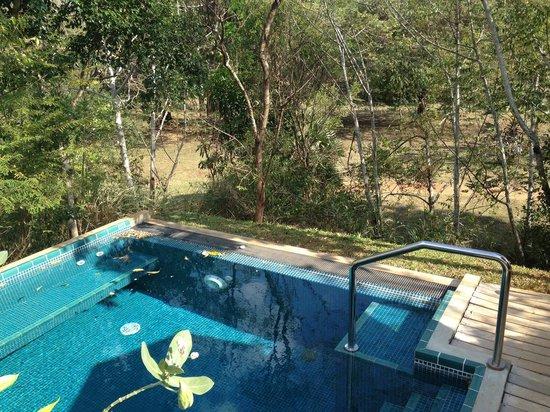 Uga Ulagalla : unser Pool im Chalet