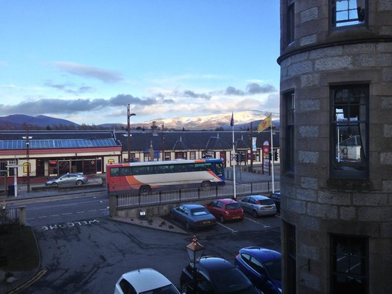 View from Cairngorm Hotel
