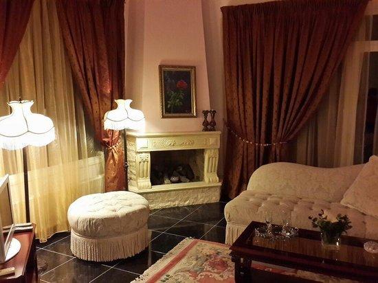 Vergis Epavlis: The living room