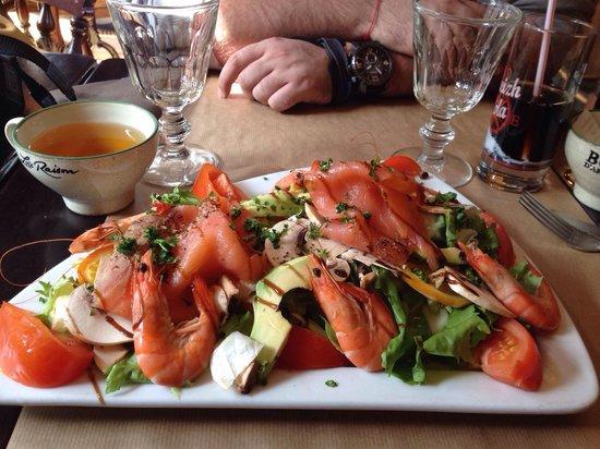 La Dent Creuse : La salade du pirate hummmmm!!!!
