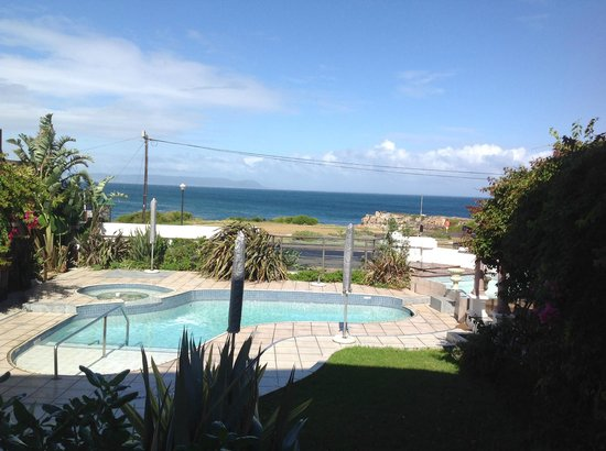 Misty Waves Boutique Hotel Hermanus: Room with a view!