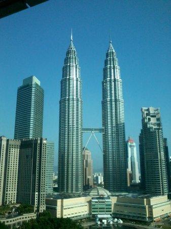 Centre ville de Kuala Lumpur : View from Hotel