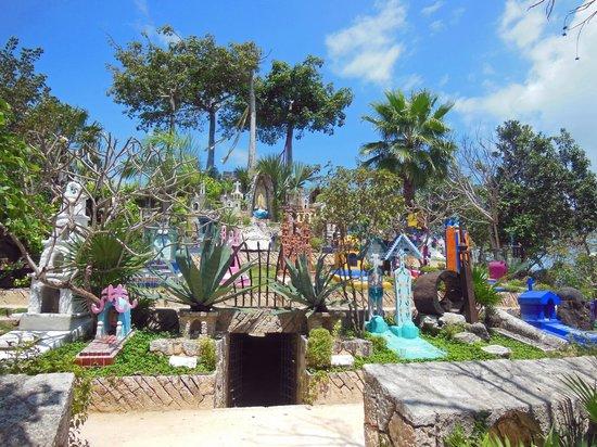 Xcaret Eco Theme Park: Cimetière Maya