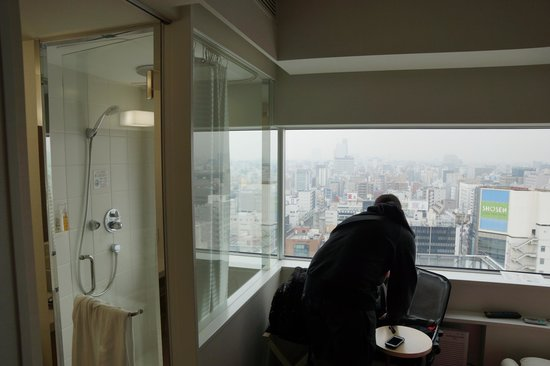 remm Akihabara: Same View from the Shower (optional)
