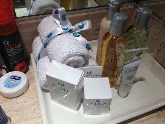 Now Sapphire Riviera Cancun: preferred room toiletries