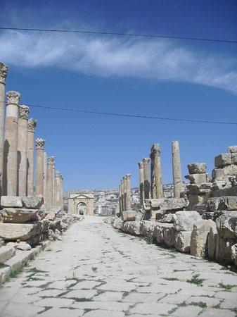 Ruinen von Gerasa: Ruinas de Jerash