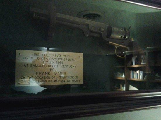 Maker's Mark: Colt Revolver once belonging to Frank James