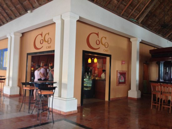 Now Sapphire Riviera Cancun: the Coco cafe