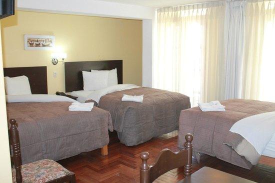 Casona Plaza Hotel Centro: Habitación familiar