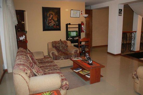 Casona Plaza Hotel Centro: Area de descanso