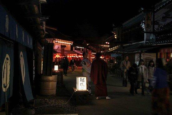 Edo Wonderland Nikko Edomura: 夜のお江戸