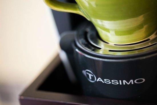 The Grosvenor Arms: Bedroom Coffee Machine