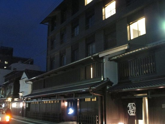 Mitsui Garden Hotel Kyoto Shinmachi Bettei: 外観 夜