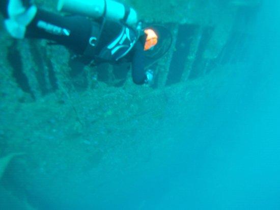Allan Power Dive Tours: SS Coolidge