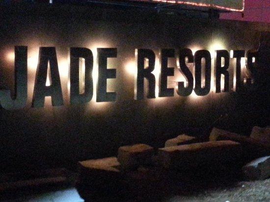 Country Club Jade Beach Resort: Jade resort entry gate