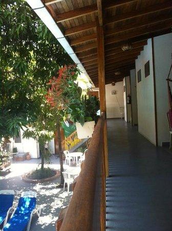 Hotel Casa del Mar Samara: balcony second floor