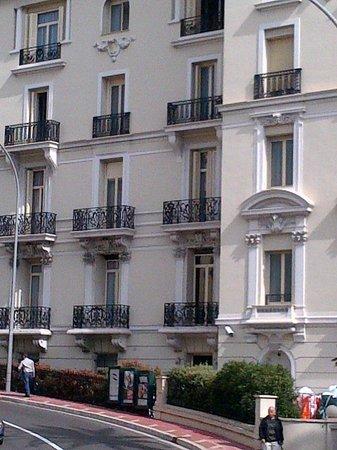 Hotel de Paris Monte-Carlo: Hotel de Paris-back view-