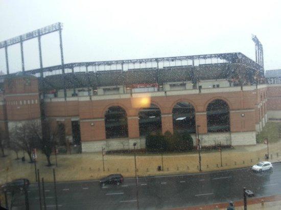 Hampton Inn Baltimore-Downtown-Convention Center: view from our hotel
