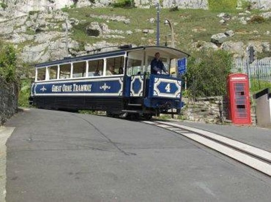 Rosedene Hotel: Tram to the Great Orme