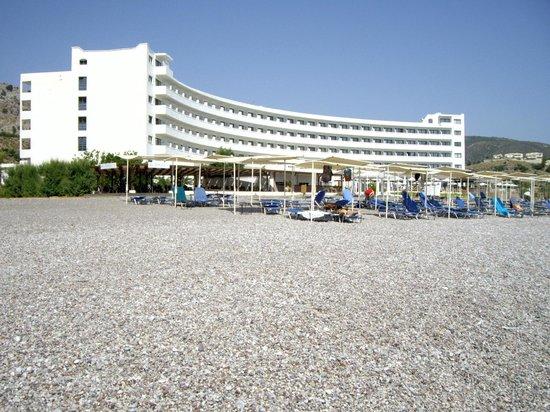 Sensimar Lindos Bay Resort & Spa : depuis la plage
