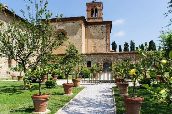 Monastero di Sant'Anna in Camprena: Les jardins