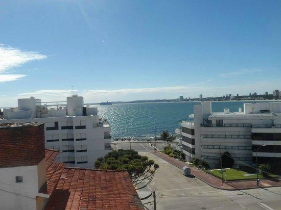 San Fernando: Vista do solarium do hotel