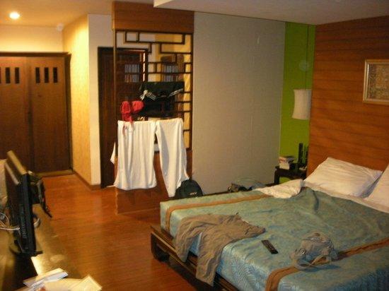 Mandala House: chambre