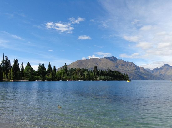 Hurley's of Queenstown: queenstown is an amazing place photo from town looking out