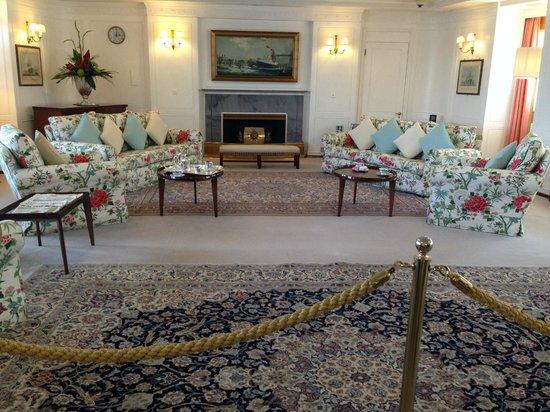 HMY Britannia: Зал для отдыха