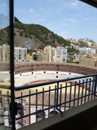 Hotel MS Maestranza: balcony on 11th floor