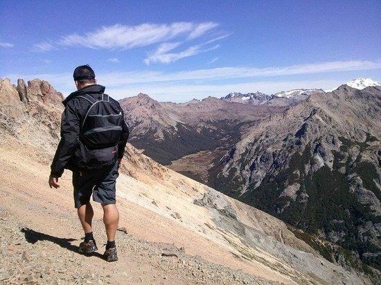 Panamericano Bariloche : Caminando por el Cerro Catedral