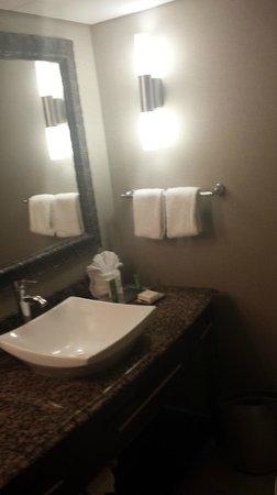 Hilton Charlotte University Place: Bathroom