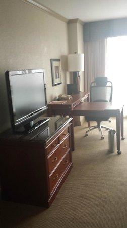 Hilton Charlotte University Place: Work area
