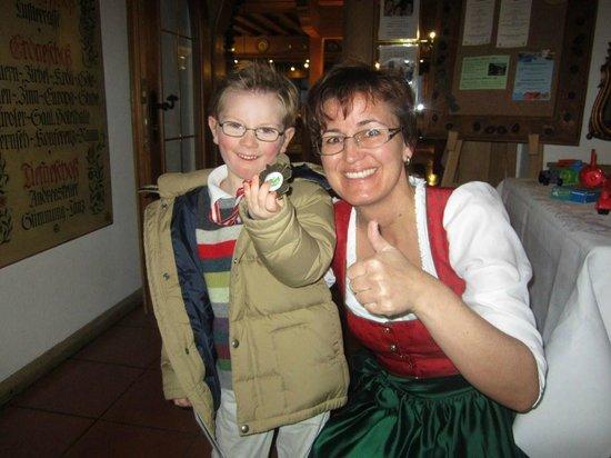 Alpenhotel Kramerwirt: Brilliant staff!