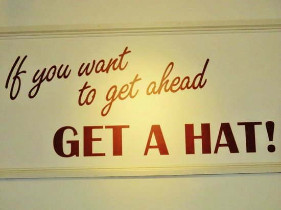 Hat Works Museum of Hatting: If you want to get ahead, get a hat!