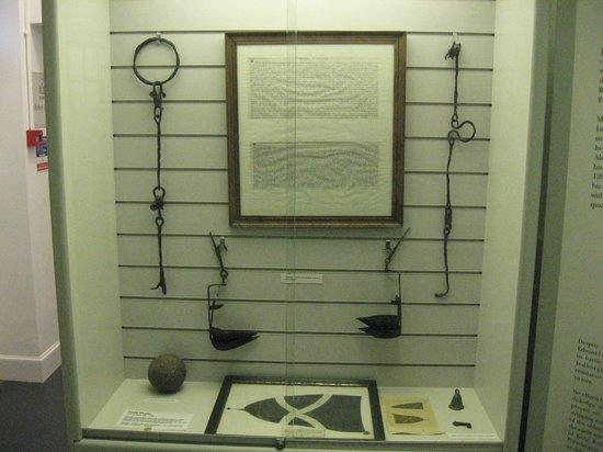 Jedburgh Castle & Jail Museum: cell block