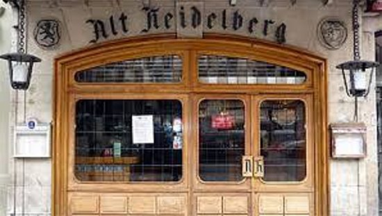 Alt Heidelberg: View from the street