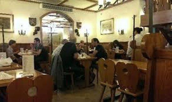 Alt Heidelberg: The dining room