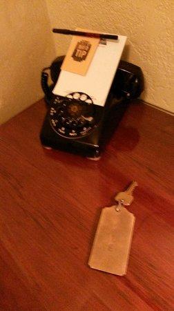 The Historic Hotel Congress: Rotary Phone