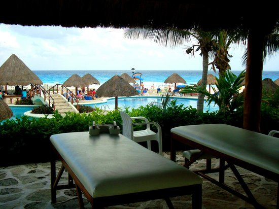 Grand Park Royal Cancun Caribe: Macas p massagem