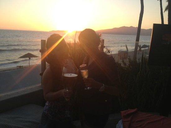 Bel Air Collection Resort & Spa Vallarta: Sunset corner