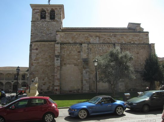 Parador de Zamora: plaza