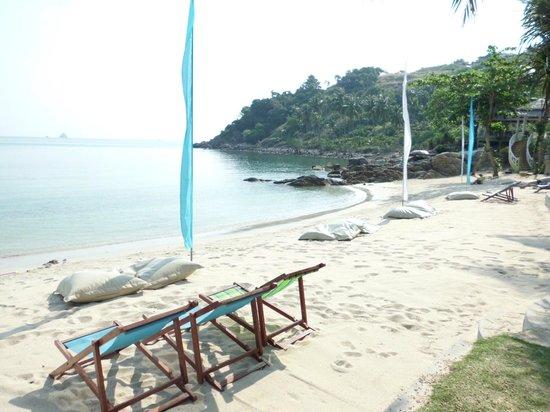 Arayaburi Boutique Resort: Пляж