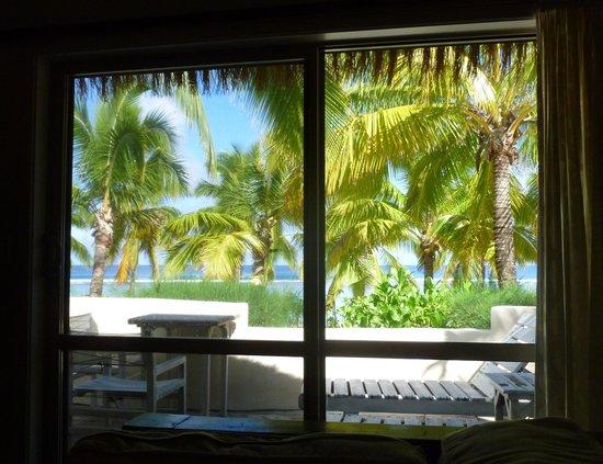Crown Beach Resort & Spa : View from villa window