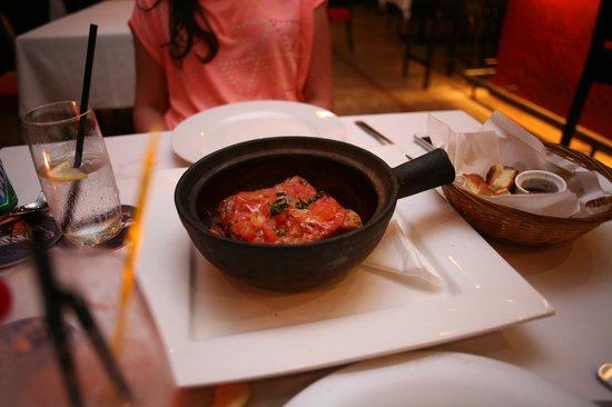 L'Osteria: the lasagna!
